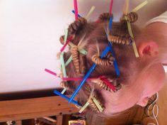 Straws for non heat curls