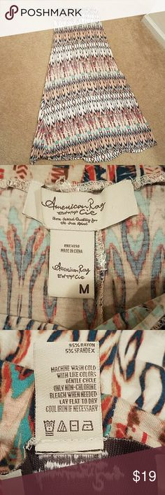 American Rag Stunning Aztec Maxi Super soft and stretchy! Worn once! American Rag Skirts Maxi