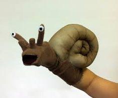 snail hand puppet                                                                                                                                                      Más