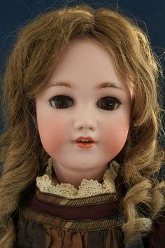 "Lovely 23""  Simon & Halbig 1248 Santa Child Doll CA1900"