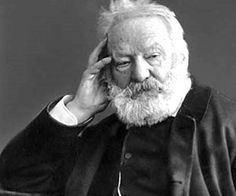 Victor Hugo, author of the now-famous Les Miserables novel. Victor Hugo - Author of Les Miserables Les Miserables, Claude Gueux, Romantic Writers, Victor Hugo Quotes, Famous Poets, Great Novels, Writers And Poets, Book Writer, I Love Books