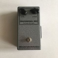 D*A*M Professional MKII Tone Bender 2006 Grey Hammerite     Reverb