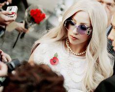 London, 2011 if I recall correctly gaga Cool Sunglasses, Round Sunglasses, Sunglasses Women, Lady Gaga Joanne, Lady Gaga Pictures, Four Eyes, Italian Girls, Eyeglasses, Eyewear