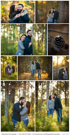 I seriously just love the light at this location! I don't shoot here often (in fact only once before for Taylor & Jimmy's winter engagement session) because it's … Photo Poses For Couples, Couple Photoshoot Poses, Couple Picture Poses, Engagement Photo Poses, Photo Couple, Couple Pictures, Older Couple Poses, Forest Engagement Photos, Teen Couples