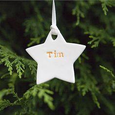 DIY Star Christmas decoration