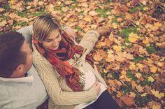 Oh Baby! 18 Swoonworthy Fall Maternity Photos via Brit + Co