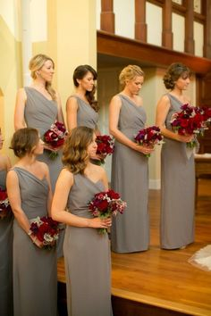 60 Striking Red And Grey Wedding Ideas | HappyWedd.com
