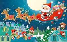 Federica Iossa - Portfolio and Books Winter Illustration, Christmas Illustration, Cute Illustration, Christmas Is Coming, Christmas Holidays, Christmas Cards, Merry Christmas, Christmas Art Projects, Owl Books