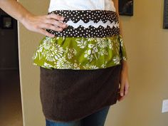a little of this, a little of that: {Hand Towel} Apron
