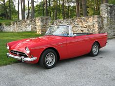 1966 Sunbeam Tiger - If money and practicality were not factors, this is what I would like to have! They were only made for 3 years, until Ford bought out Sunbeam. It is a two seater and one in good condition would probably cost more than our house.