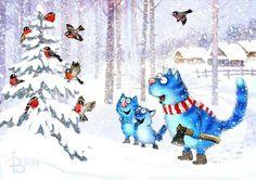 Den er jo sød , tak ☃️ Og god jul til dig ☃️ Baby Kittens, Cats And Kittens, Crazy Cat Lady, Crazy Cats, Illustration Main, Image Chat, Creation Photo, Matou, Cat Dog
