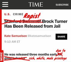 Pissed About Brock Turner's Early Release? Here are 5 Ways to Be the Change.