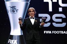 Después de haber recibido el premio The Best de la FIFA 75cf63a3f140d