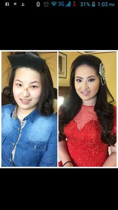 Airbrush Make Up and Hairstyle by my Senior Make Up Artist Aya yesterday for the bride's aunt. ;)  CJ Jimenez Hair and Make Up Artists Team: 1. Exceptional Portfolio 2. Consistent, More than A Thousand, Unsolicited and Real Time Positive Clients Feedback 3. Numerous Credentials:  Pond's Beauty Ambassador (1 of only 16 HMUAs in the Philippines) Bridal Make Up Artist of the Year- Top Brands Most Sought After Supplier / Top Booker for HMUA category- Weddings and Debut 2013 Image Consultant…