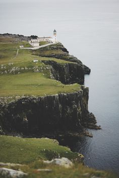 lighthouse, isle of skye, scotland | travel destinations in the united kingdom + photography #wanderlust
