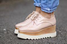 Tendinte Primavara-Vara 2015: Pantofii cu Platforma   Sandra Bendre