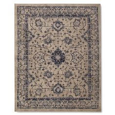 The Industrial Shop Vintage Distressed Area Rug