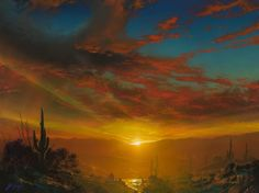 Let There Be Light, And There Was Light Dale TerBush, Giclee On Canvas or Metal - Limited Edition