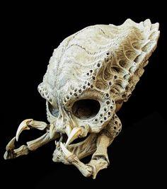 - Predator Skull by Emanuele Tubertosi