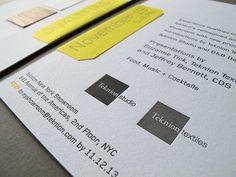 Teknion, Veneer, and Letterpress