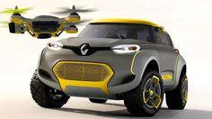 KWIDコンセプト(Kwid Concept)。フランスの自動車メーカーであるルノーが12th Auto Expo (2014)なるイベントで発表したコンセプトカー。特徴としては目的地を偵察するためのドローンが付属してるとのこと。