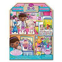 Disney Doc McStuffins Wooden Magnetic Doll & Playhouse - Sam's Club