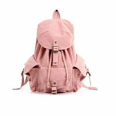 Colar mochila de lona mochila de hombro mochila de mujer mochila escolar adolescente (rosa): Amazon.es: Zapatos y complementos