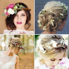 Kısa zaman içinde 'Evet' demeye hazırlanıyor ve bahar gelini oluyorsanız saçlarınızı yazın eşsiz renkteki çiçekleriyle taçlandırabilirsiniz.