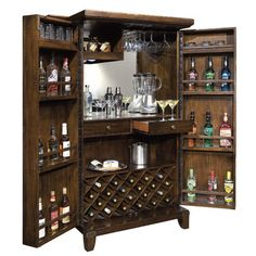 Howard Miller® Douro Wine and Bar Cabinet
