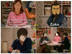 Avatar: The Last Airbender (meets That 70's Show) A modern take on the royal fire family.| Zuko