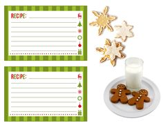 Christmas Cookie Exchange Party ... Such a fab Christmas party idea! Love the idea of having recipe cards for people to fill out so they have the recipe to take home.