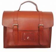Leather bike satchel W1