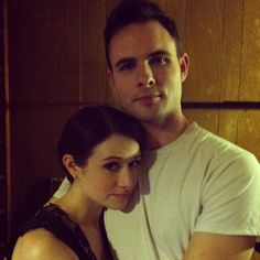 photo after last ep together, Ashley and Daniel. Lizzie Bennet Diaries