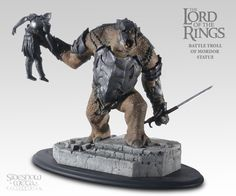 Polystone Statue - Battle Troll of Mordor #9346