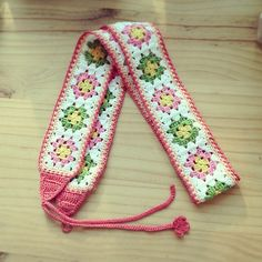 ukelele strap- could be used as an easel strap maybe?