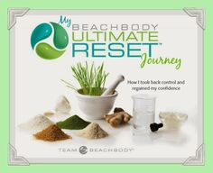 Ultimate reset, clean eating, control over food
