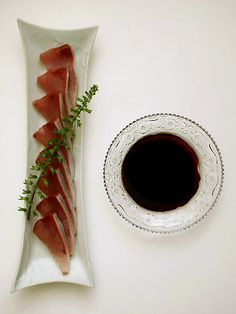 寒ブリの刺身(Sashimi of yellowtail)