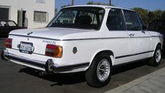 One of my all time favorite cars is the BMW 2002tii. I owned a '74 with sunroof when I lived in LA and it's a fun and practical commuter. This is a restored tii and I love the original look, with a few upgrades.