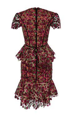 Julia Cornelia Floral Embellished Dress by JOHANNA ORTIZ for Preorder on Moda Operandi