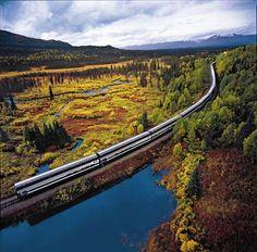 The Wilderness Express - Train Ride to Denali Alaska.