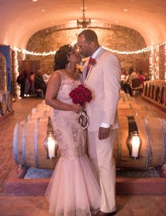 Jakoma and Vaughn's wedding was all about romantic-elegance!  They wanted to have an intimate...