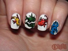one fish, two fish, red fish, blue fish!