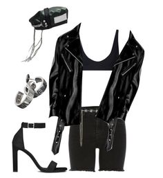 """""""Untitled #35"""" by sharifalfahim ❤ liked on Polyvore featuring River Island, Rochelle Sara, Yves Saint Laurent and Cartier"""