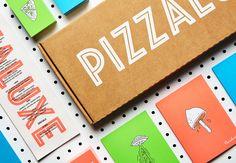 Pizzaluxe Restaurant Branding