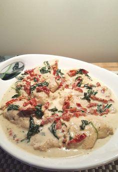 Pressure Cooker Creamy Tuscan Garlic Chicken