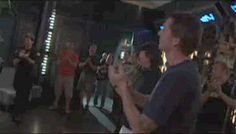 A David Hewlett and Joe Flanigan HUG for the win!!! A wonderful rare thing :))))))))