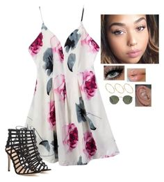 """""""Untitled #640"""" by her1dreamher1passion ❤ liked on Polyvore featuring Gianvito Rossi, ASOS and Ray-Ban"""