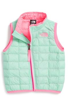 The+North+Face+'ThermoBall™'+PrimaLoft®+Vest+(Baby+Girls)+available+at+#Nordstrom