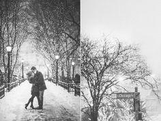 Becca & Ryan - Winter Love Engagement | Chicago Wedding Photography