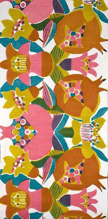 Tomoko Yokoyama  Textile  pomegranate